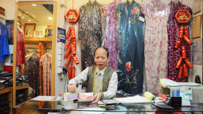 Linva Tailor founder and owner Sifu Ching-Wah Leung