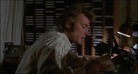 Clint Eastwood as radio DJ Dave Garver in Play Misty for Me