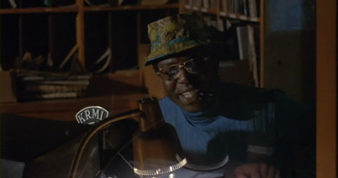 Wonderful character actor James McEachin in Play Misty for Me
